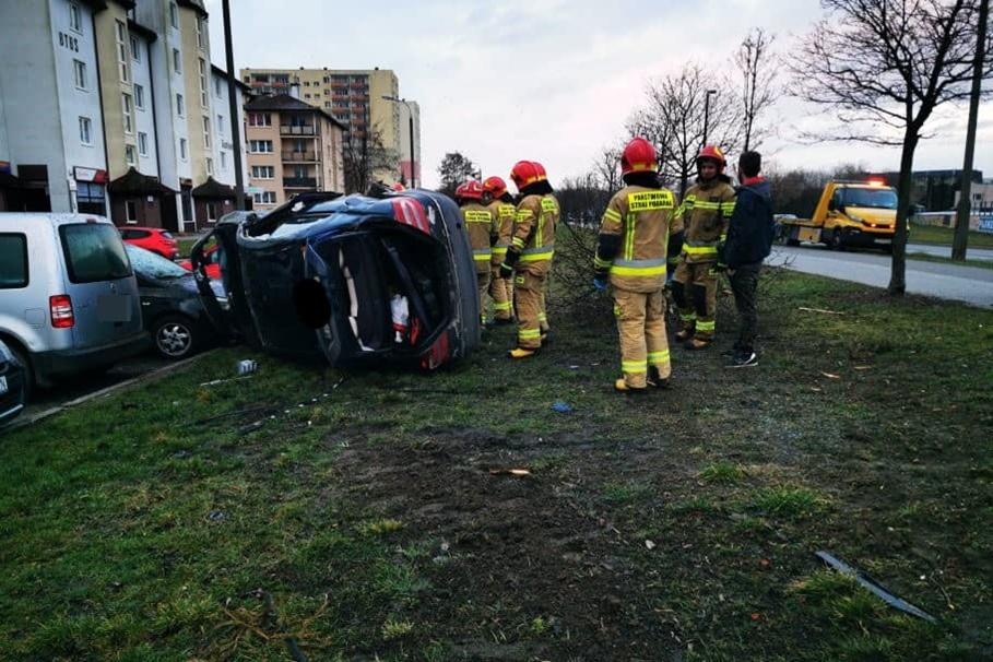 26-02-2020_ wypadek Gackowskiego Bydgoszcz - Krystian Andruszczenko-5