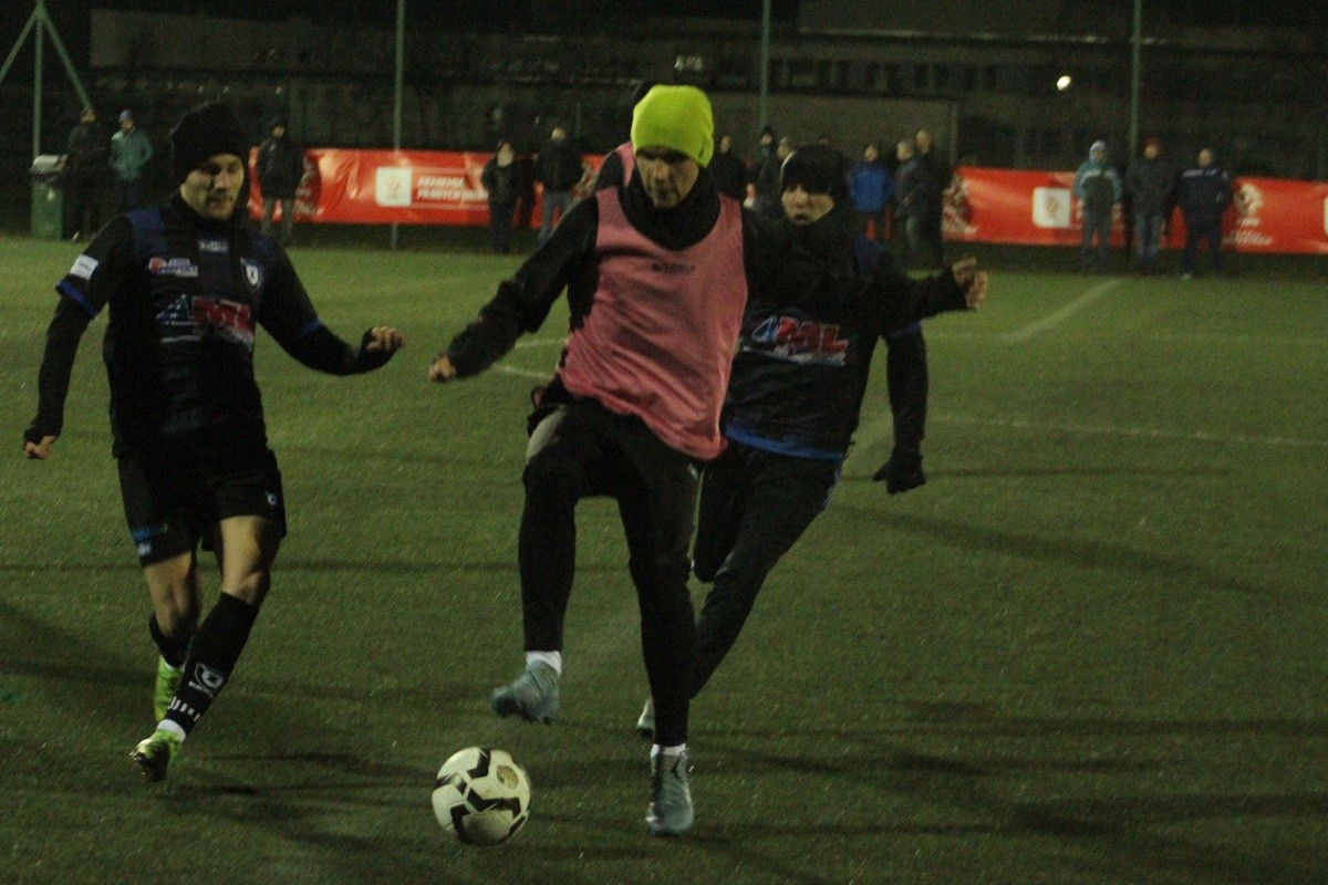 5-02-2020_ piłka nożna, sparing_ SP Zawisza Bydgoszcz - Pomorzanin Serock - JS (16)