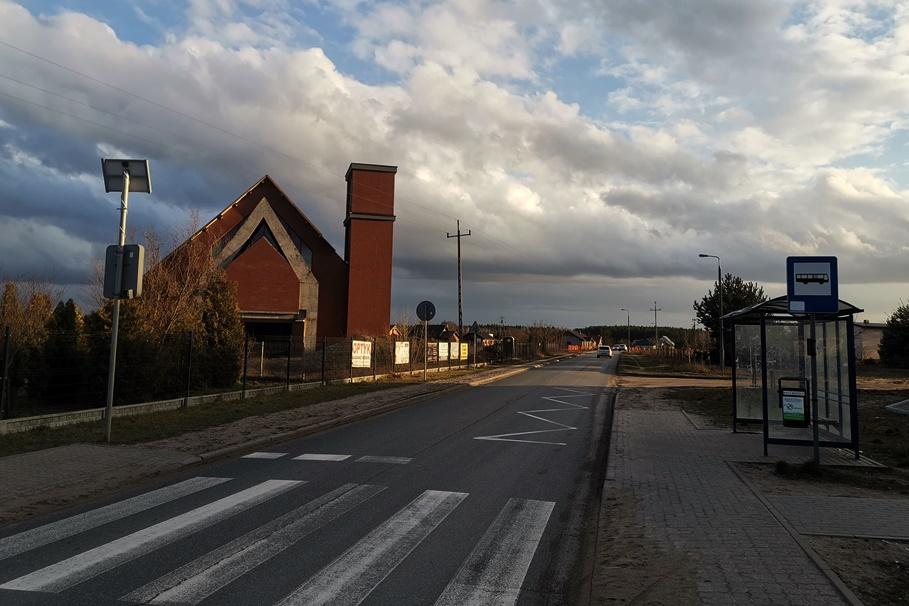 Murowaniec_ Łochowska - przejście dla pieszych - JS