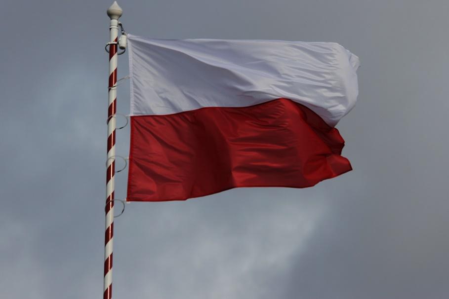 Polska - flaga, biało-czerwona - SF