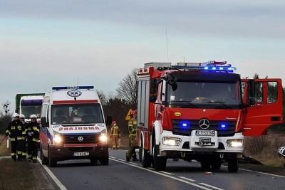 ambulans, straż pożarna - na sygnale - ZK-2
