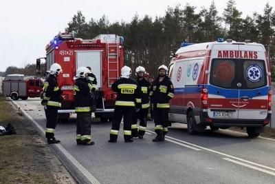 ambulans, straż pożarna - na sygnale - ZK