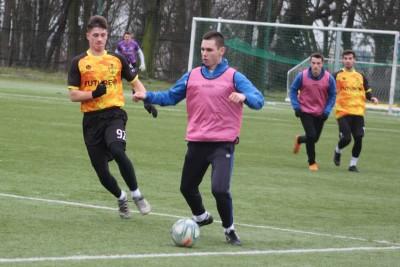 piłka nożna, sparing_ Sportis SFC Łochowo - POL-OSTEG Pomorzanin Serock - JS (23)