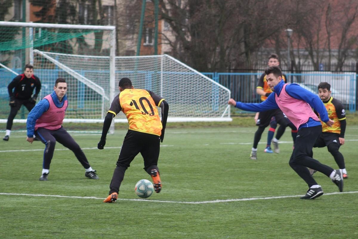 piłka nożna, sparing_ Sportis SFC Łochowo - POL-OSTEG Pomorzanin Serock - JS (27)