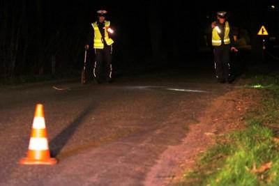 policja-potrącenie pieszego-na sygnale-KPP Świecie