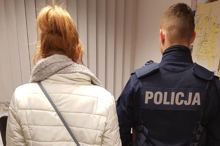 policja, zatrzymana - kpp swiecie