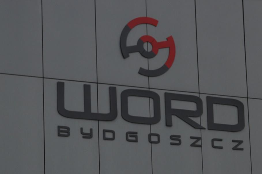 szyld, logotyp - Wojewódzki Ośrodek Ruchu Drogowego, WORD Bydgoszcz - SF