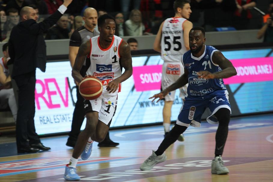 1-03-2020_ koszykówka, Energa Basket Liga_ Enea Astoria Bydgoszcz - HydroTruck Radom_ Kris Clyburn, Obbie Trotter - SF