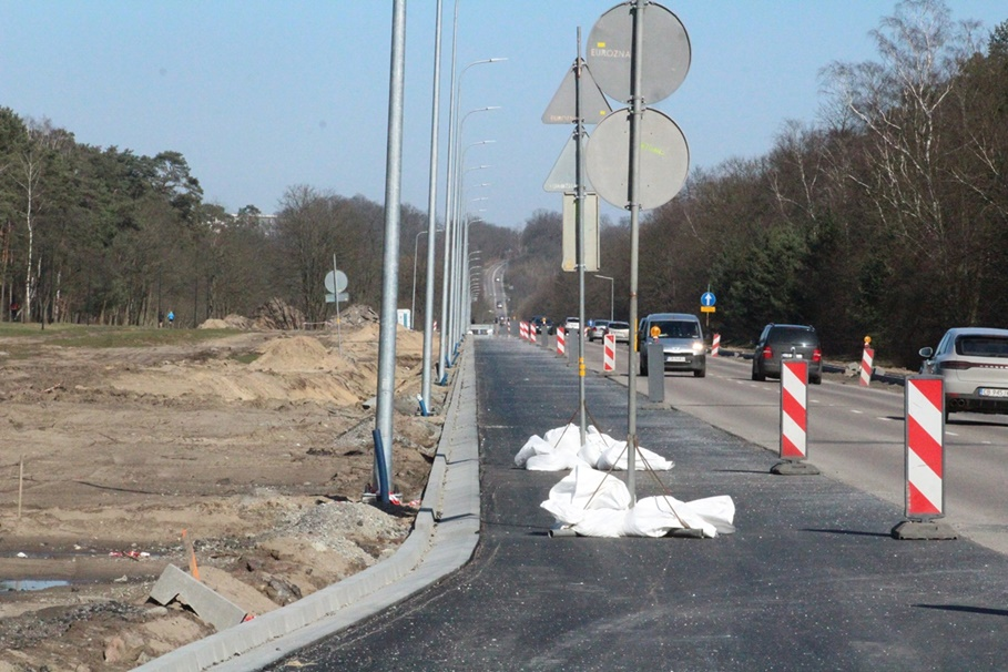 15-03-2020_ Gdańska, Myślęcinek_ budowa_buspas - JS (7)