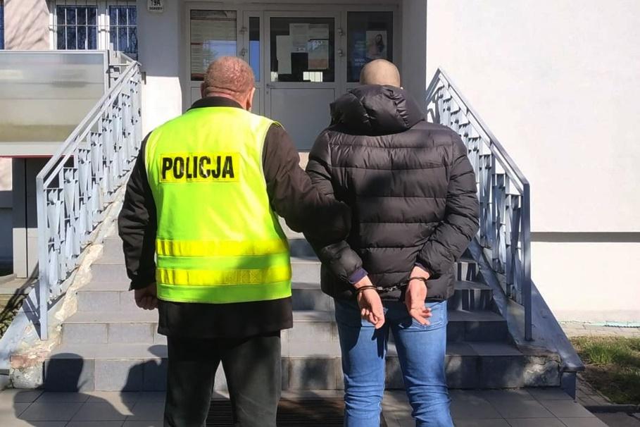 25-03-2020_ zatrzymanie_ Fordon, hodowla narkotyków - KWP Bydgoszcz