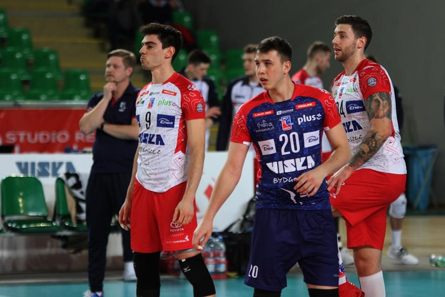 BKS Visła Bydgoszcz_ Gonzalo Quiroga, Kamil Szymura, Michał Filip - SF