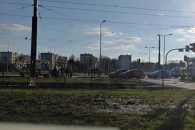 potrącenie rowerzysty Wojska Polskiego Bydgoszcz