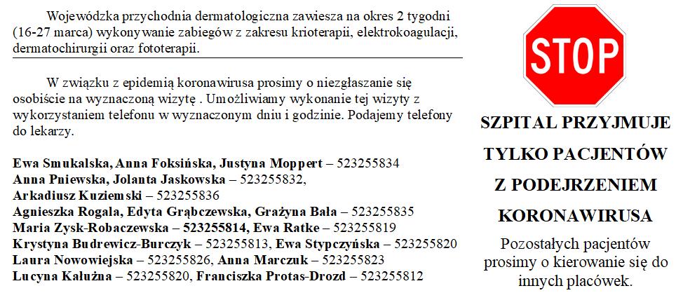 szpital_zakazny_komunikat_koronawirus_130320