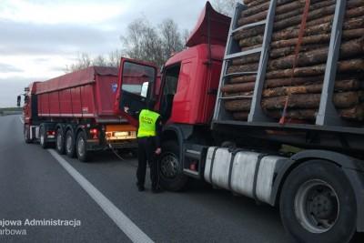 17-04-2020_ pijany kierowca_autostrada A1 Lubicz_ KAS Kujawsko-Pomorskie