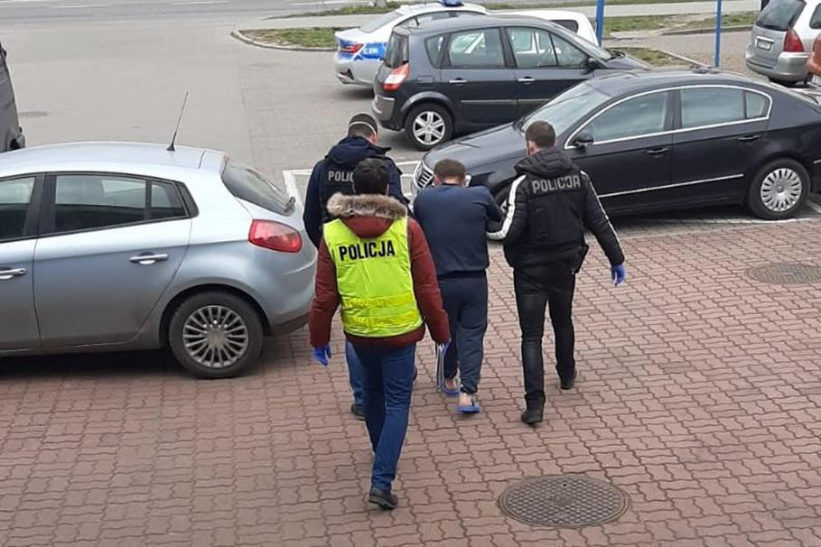 2-04-2020_ zabójstwo_zatrzymanie, Mickiewicza Bydgoszcz - KWP Bydgoszcz-2