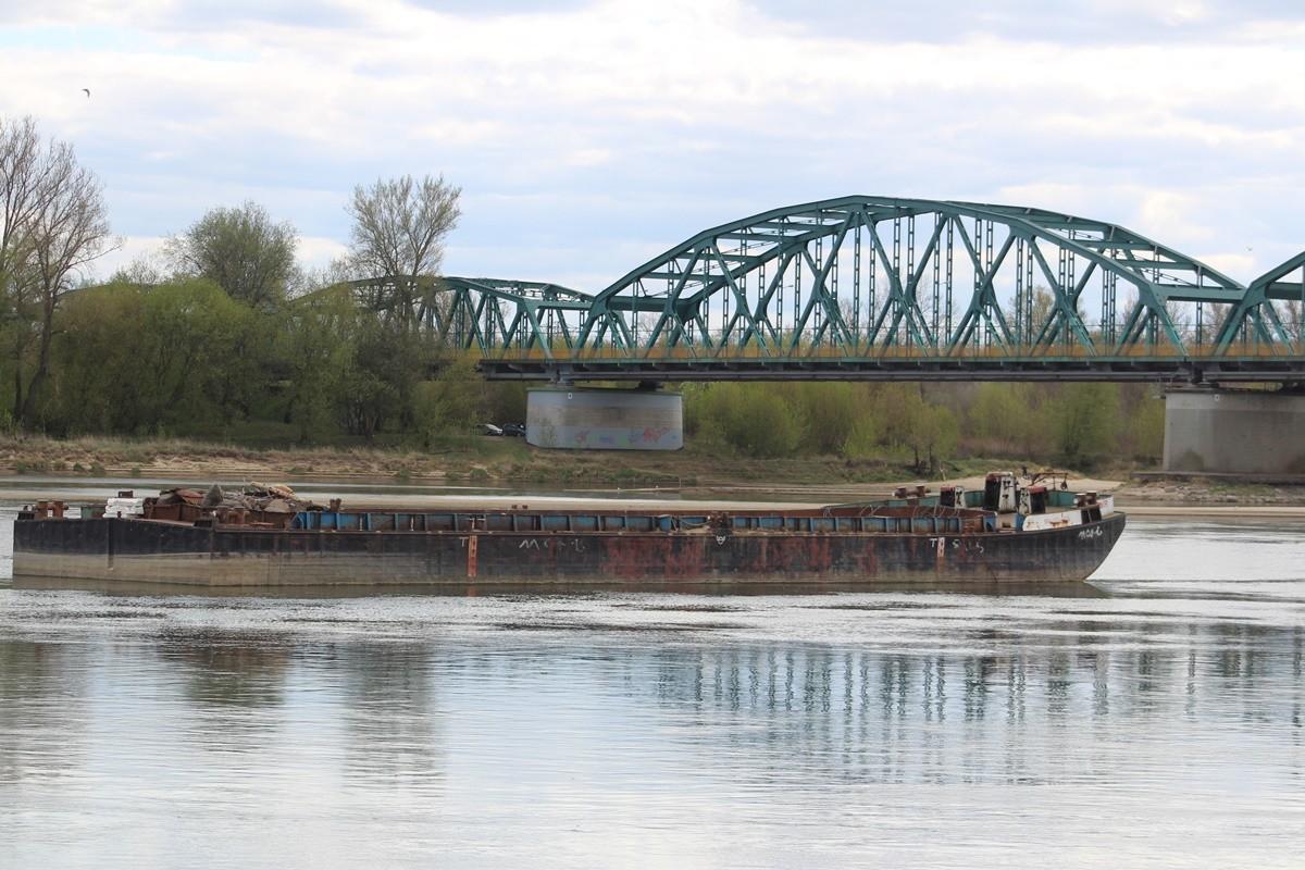 26-04-2020_ Stan, poziom - rzeka Wisła - Fordon, Bydgoszcz - JS (22)