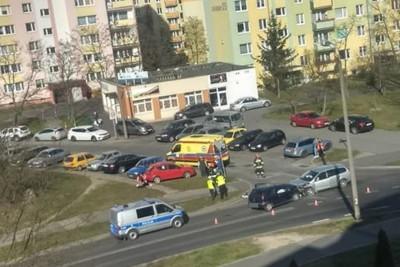 4-04-2020_ wypadek Brzechwy-Zarembina Fordon_ nadesłane