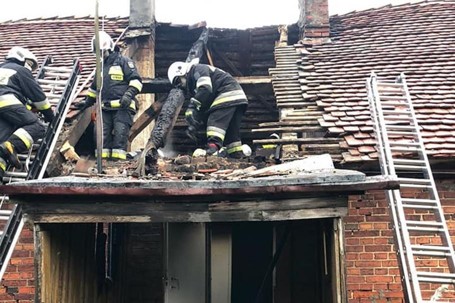 1-05-2020_ pożar budynku Sicienko - OSP Wojnowo-6