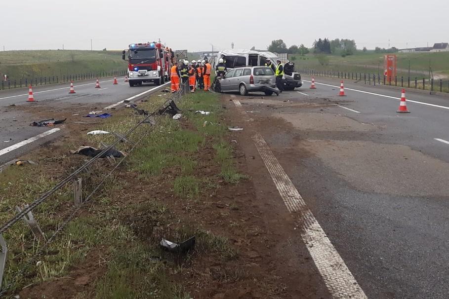 11-05-2020_ wypadek autostrada A1 Gorzuchowo - KPP Chełmno (3)