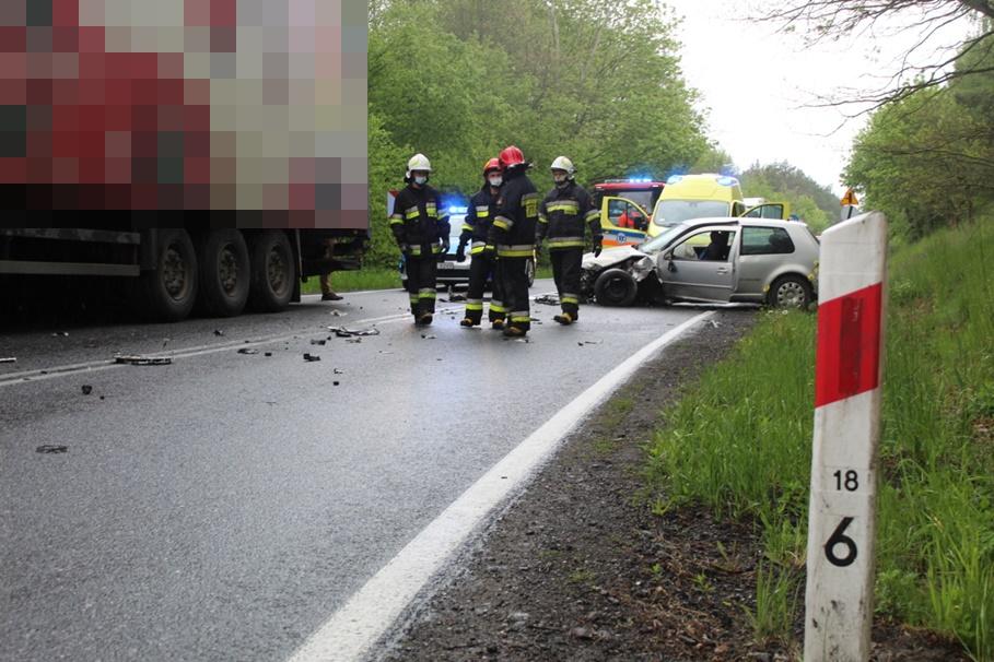 19-05-2020_ wypadek DK16 Kłódka - KMP Grudziądz-2