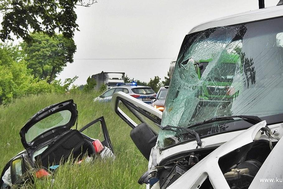 23-05-2020_ wypadek DK10 Trzeciewnica - ZK-8