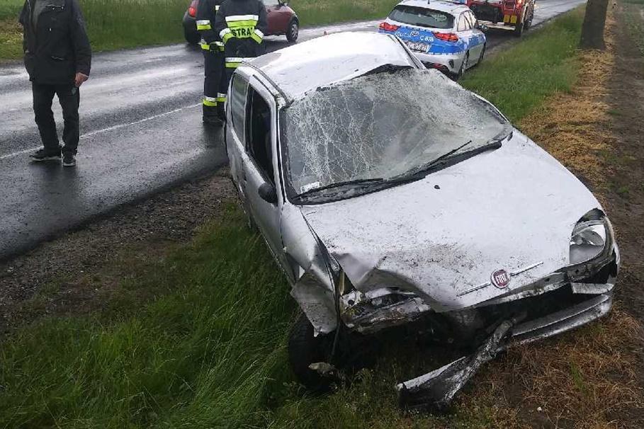28-05-2020_ wypadek DW267 Faliszewo - KPP Radziejów-3
