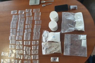 29-04-2020_ narkotyki zabezpieczone, Lniano - KPP Świecie