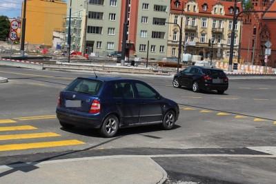 30-05-2020_ budowa linii tramwajowej_ Kujawska, rondo Bernardyńskie Bydgoszcz - JS (18)