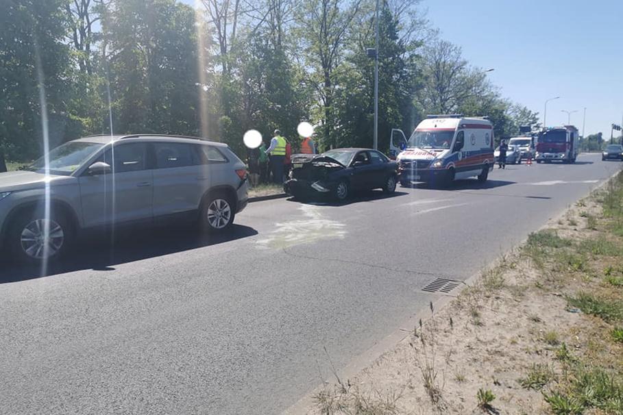 31-05-2020_ wypadek Pileckiego Bydgoszcz - Pomoc Drogowa Krystian Andruszczenko