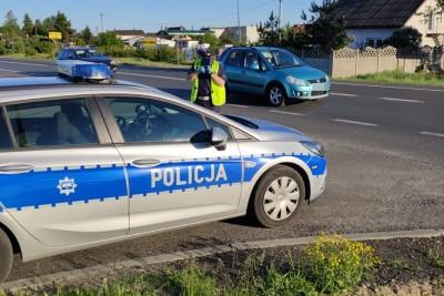 DK10_policja_kontrola prędkości_na sygnale - KMP Toruń