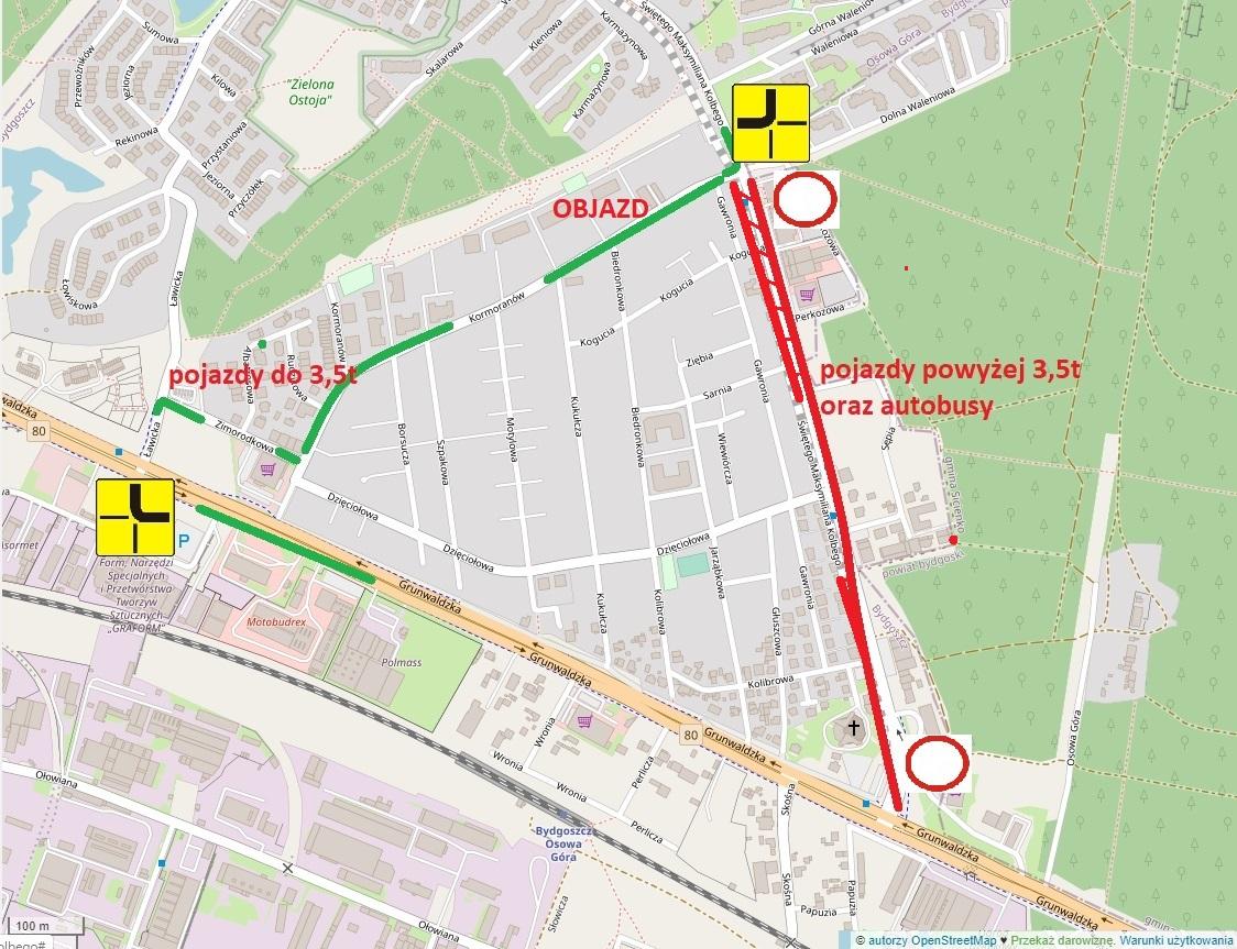 mapa kolbego
