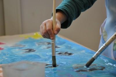 przedszkole, malowanie, dzieci - pixabay