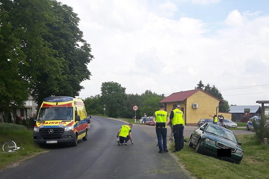 18-06-2020_ wypadek DW556 Brzuze - KPP Rypin-1