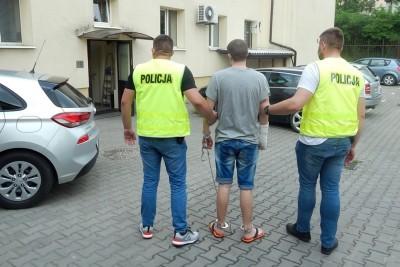 18-06-2020_wypadek DW266 Czołówek - podejrzany - KPP Radziejów