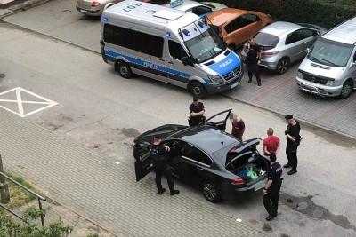 24-06-2020_ policja, Toruń - zabezpieczony tytoń - KMP Toruń