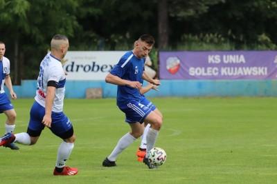 27-06-2020_ sparing, piłka nożna_ Unia Solec Kujawski - Zawisza Bydgoszcz_ Sebastian Pacek - Kasia Pijarowska