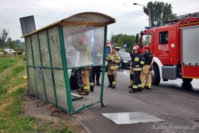 5-06-2020_ wypadek Nakło nad Notecią, ul. Poznańska - ZK-1