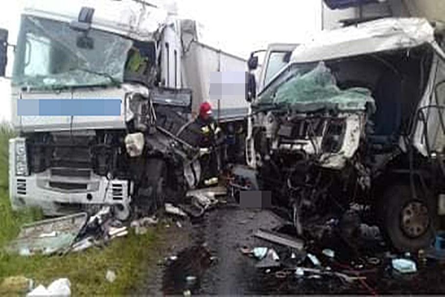 8-06-2020_ wypadek DW543 Kamień_ OSP KSRG Jabłonowo Pomorskie (2)