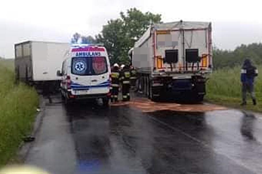 8-06-2020_ wypadek DW543 Kamień_ OSP KSRG Jabłonowo Pomorskie (4)