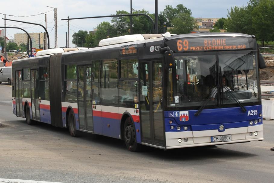 Autobus - linia 69, kierunek Błonie - SF