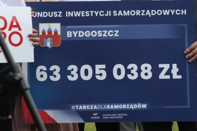Fundusz Inwestycji Samorządowych_ Czek Bydgoszcz - SF