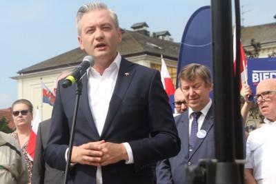 Robert Biedroń, Anna Mackiewicz, Jan Szopiński - SF