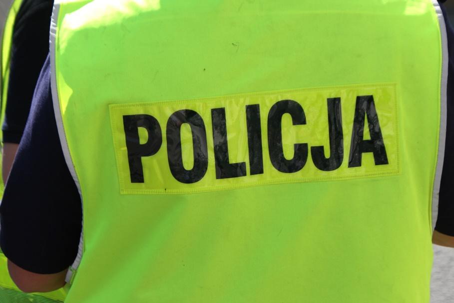 policja - na sygnale - wypadek - SF-6
