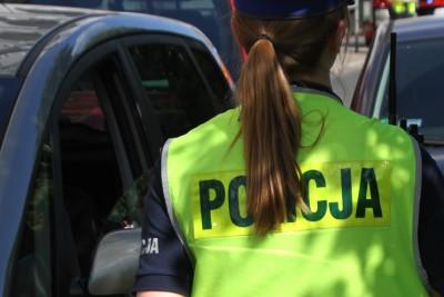 policja - na sygnale - wypadek - SF-7