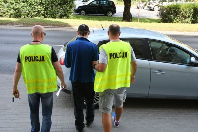 rozboj_autobus_bydgoszcz_aresztowany_KWPBydgoszcz
