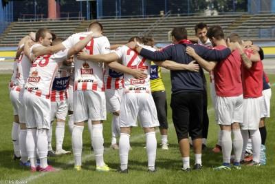 11-07-2020_ piłka nożna, sparing_ KP Polonia Bydgoszcz - Sportis Łochowo - AR (1)