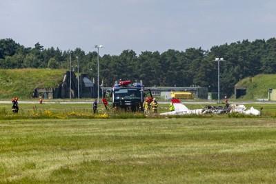 14-07-2020_wypadek - lotnisko, Port Lotniczy Bydgoszcz - SF