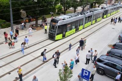 2-07-2020_ tramwaj Pesa Twist_ przejazd, Gorzów Wielkopolski - mat. UM Gorzów Wielkopolski (5)