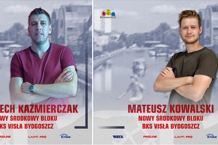 BKS Visła Bydgoszcz_Wojciech Kaźmierczak, Mateusz Kowalski