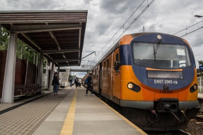 Dworzec Kolejowy Bydgoszcz-Błonie_ pociąg, kierunek Poznań - SM (2)
